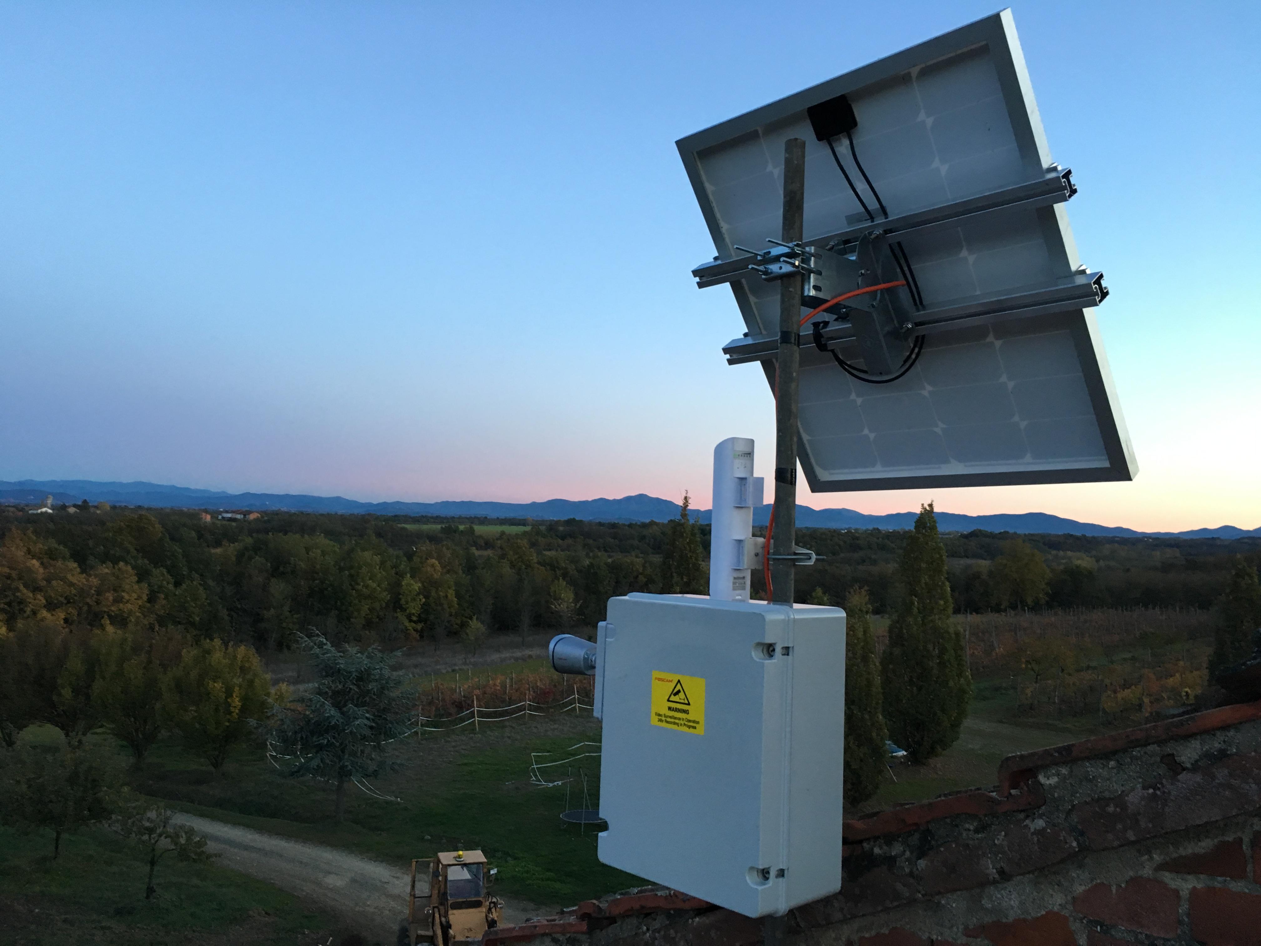 Locazione stazione meteo